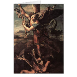 St. Micheal und der Teufel Karte