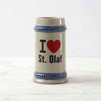 St. Olaf Stein Bierglas