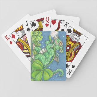 ST PATRICK IRISCHER DRACHE-SPIELKARTEN Poker Spielkarten
