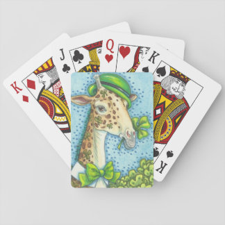 ST PATRICK IRISCHER GIRAFFEN-SPIELKARTEN Poker Spielkarten