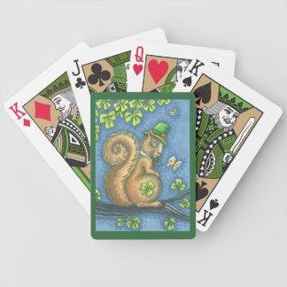 St Patrick IRISCHES Bicycle Spielkarten