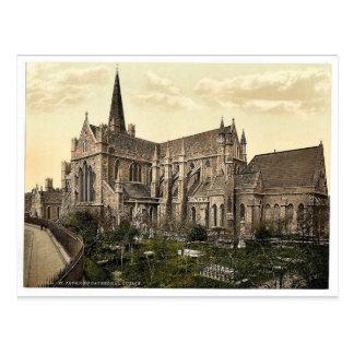 St Patrick Kathedrale. Dublin. Co. Dublin, Irela Postkarte
