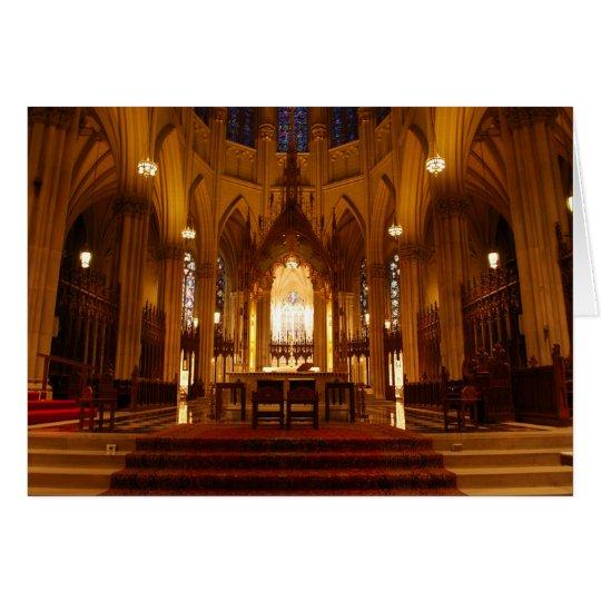 St Patrick Kathedrale Grußkarte