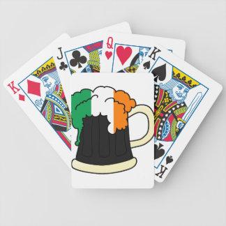 St Patrick Tag Bicycle Spielkarten