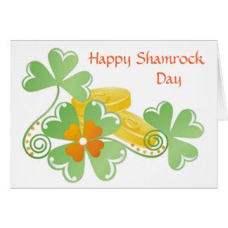St Patrick Tag für Chefs, Mitarbeiter u. Kunden Karte