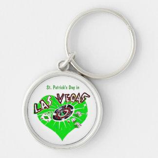 St Patrick Tag Las Vegas Schlüsselanhänger