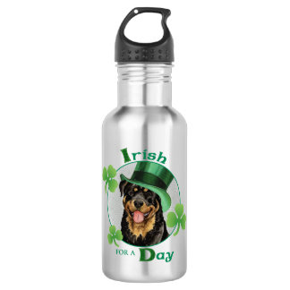 St Patrick Tag Rottweiler Trinkflasche
