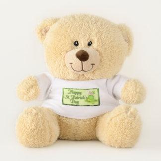 St Patrick Tag Teddybär