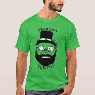 St Patrick Tagesbärtiger Teddybär T-Shirt