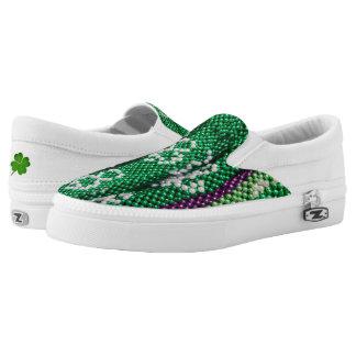 St Patrick Tagesbeleg auf Schuhen Slip-On Sneaker