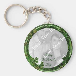 St Patrick TagesFoto-Schlüsselkette Schlüsselanhänger