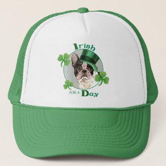 St Patrick Tagesfranzösische Bulldogge Truckerkappe