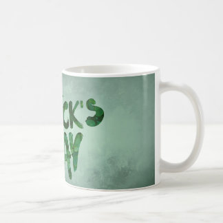 St Patrick Tagesgrün-Kleeirischer Celtic Kaffeetasse