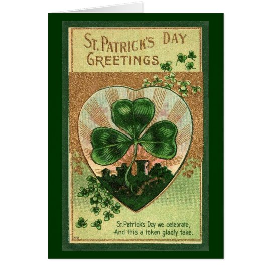 St Patrick Tagesgruß - Karte
