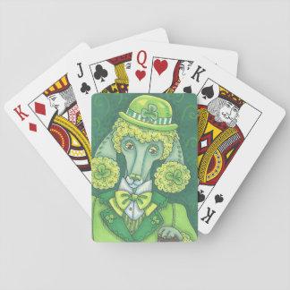 ST PATRICK TAGESirischer PUDEL-SPIELKARTEN Poker Spielkarten