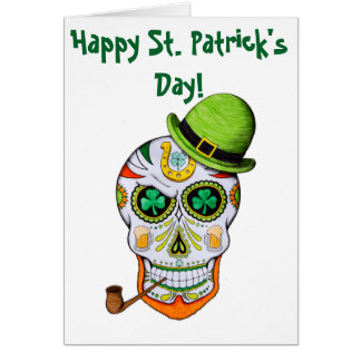 St Patrick Tageskarte Karte