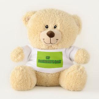 St Patrick Tageskleiner Teddybär