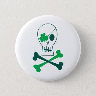 St Patrick Tagespirat Runder Button 5,1 Cm