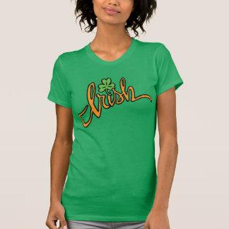St Patrick Tagest-shirt Iren mit einem Kleeblatt T-Shirt