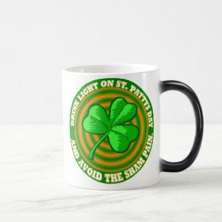 St. Patricks Day-Becher Verwandlungstasse