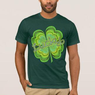 St. Patricks Day vierblättriges Kleeblatt T-Shirt