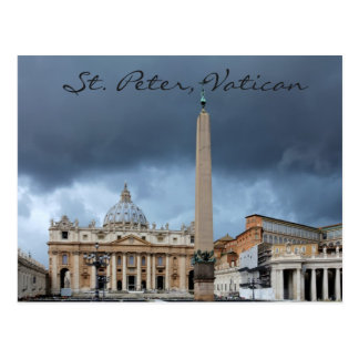 St Peter Basicila, heilige Stadt von Vatikan Postkarte