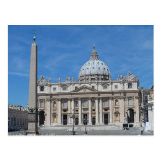 St Peter Basilika-Vatikanstadt Postkarte