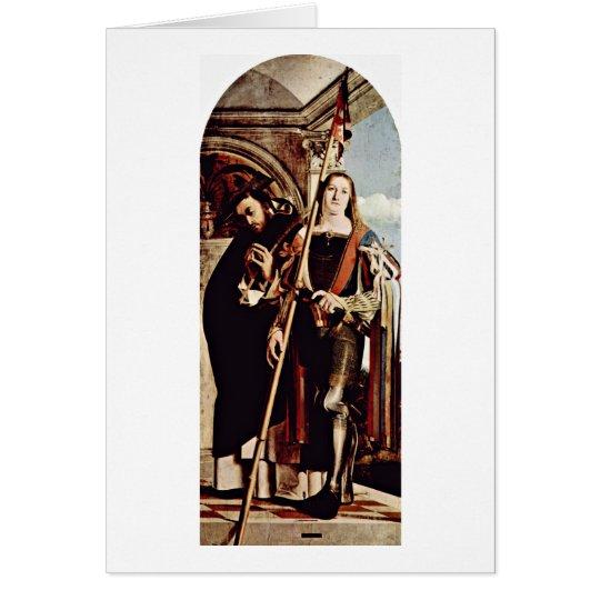 St- Petermärtyrer und St. Vitus durch Lorenzo Grußkarte