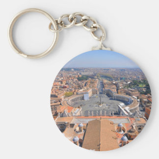 St- Peterquadrat in Vatikan, Rom, Italien Schlüsselanhänger
