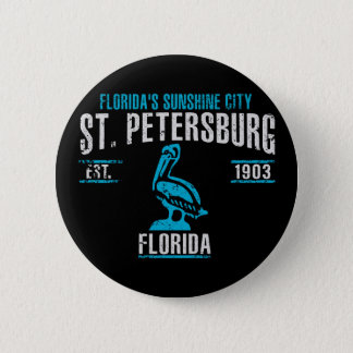 St. Petersburg Runder Button 5,1 Cm