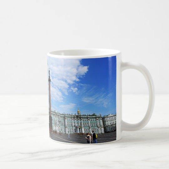 St. Petersburg, Winter-Palast u. Alexander-Spalte Kaffeetasse
