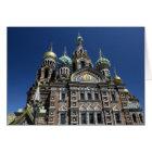 St- Petersburgkirche, Russland Karte
