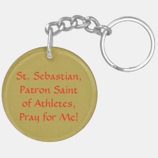St. Sebastian (SNV 24) Blank/DIY ziehen sich Schlüsselanhänger