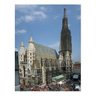 St Stephen Kathedrale, Wien Österreich Postkarte