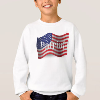 Staat-Patriot-wellenartig bewegende Flagge Sweatshirt