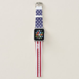 Staat-US Flagge personalisiert Apple Watch Armband