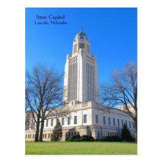 Staats-Hauptstadt Lincoln, Ne-Postkarte best1 Postkarte