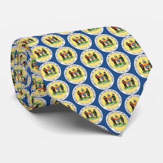 Staats-Siegel von Delaware Individuelle Krawatte