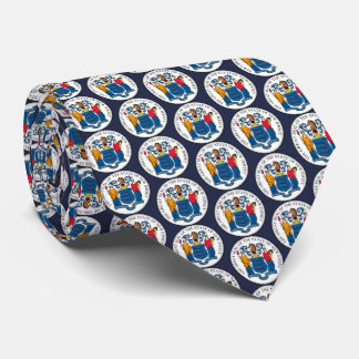 Staats-Siegel von New-Jersey Krawatte
