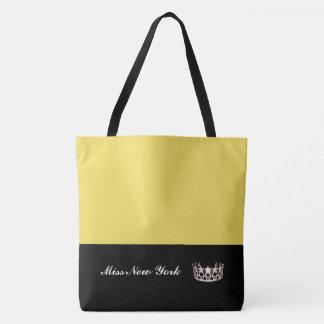 Staats-Silber-Kronen-Taschen-Tasche-Großes Gelb Tasche