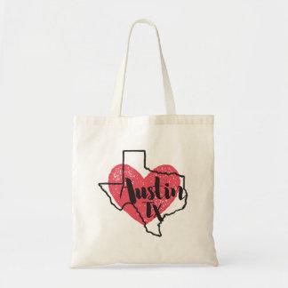 Staats-Taschen-Tasche Austins Texas Budget Stoffbeutel