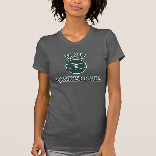 Staats-Universität 3 MSU Basketball-| Michigan T-Shirt