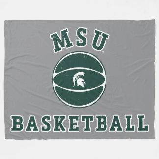 Staats-Universität 4 MSU Basketball-| Michigan Fleecedecke