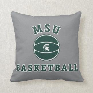 Staats-Universität 4 MSU Basketball-| Michigan Kissen