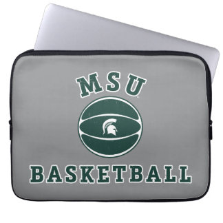 Staats-Universität 4 MSU Basketball-| Michigan Laptop Sleeve