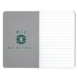 Staats-Universität 4 MSU Basketball-| Michigan Taschennotizbuch