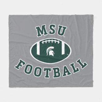 Staats-Universität 4 MSU Fußball-| Michigan Fleecedecke