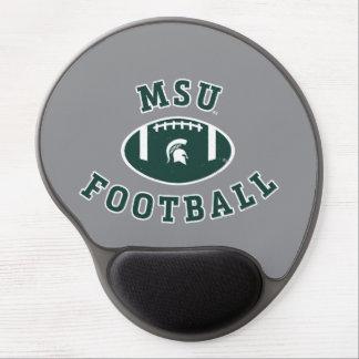 Staats-Universität 4 MSU Fußball-| Michigan Gel Mousepad