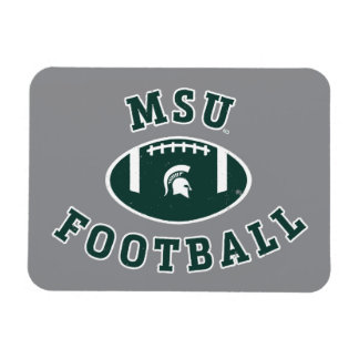 Staats-Universität 4 MSU Fußball-| Michigan Magnet