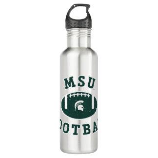 Staats-Universität 4 MSU Fußball-| Michigan Trinkflasche